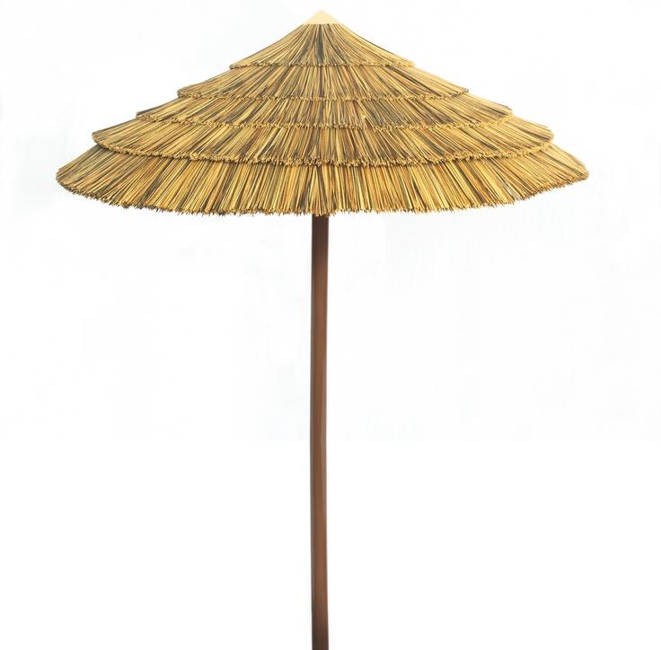 Artificial African Thatch Umbrella