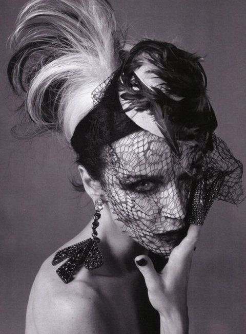 Daphne Guinness: Daphneguinness, Daphne Guinness, Italian Vogue, Steven Meisel, Street Style, Daphne Guiness, Style Icons, Fashion Hats, Steven Small