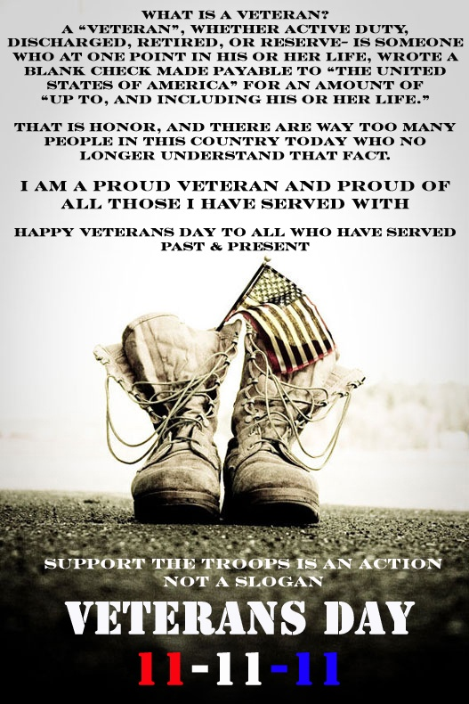 Im proud to be an Army Veteran!!! HAPPY VETERANS DAY ...