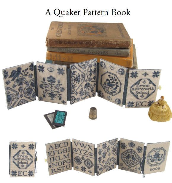A Quaker Pattern Book #cross stitch (...cr...got this pattern too....love it...nice when done)