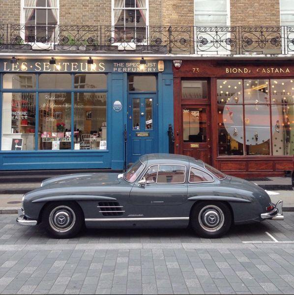 Mercedes Benz #300SL. Source: instagram.com/maxige78. #BruceAdams190SL #190SLRestorations #300SLRestorations