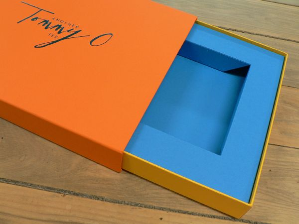 Drawer box made with GF Smith Colorplan