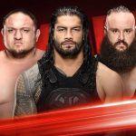 Monday Raw 31st July 2017 Match Winners