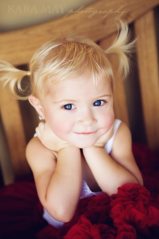 Girl Child Kid Pony Tails Beauty Cuty Arms Gordeous