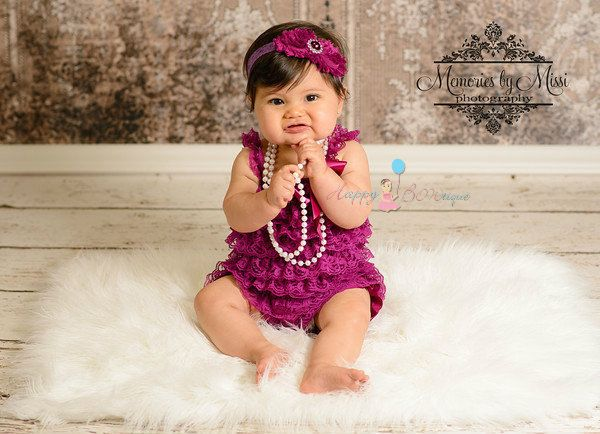 Baby Girl's romper,Raspberry Plum Lace Romper,Toddler clothing,newborn going home outfit,1st Birthday outfit, Baby girls' clothing,baby gift by HappyBOWtique on Etsy https://www.etsy.com/listing/125878214/baby-girls-romperraspberry-plum-lace