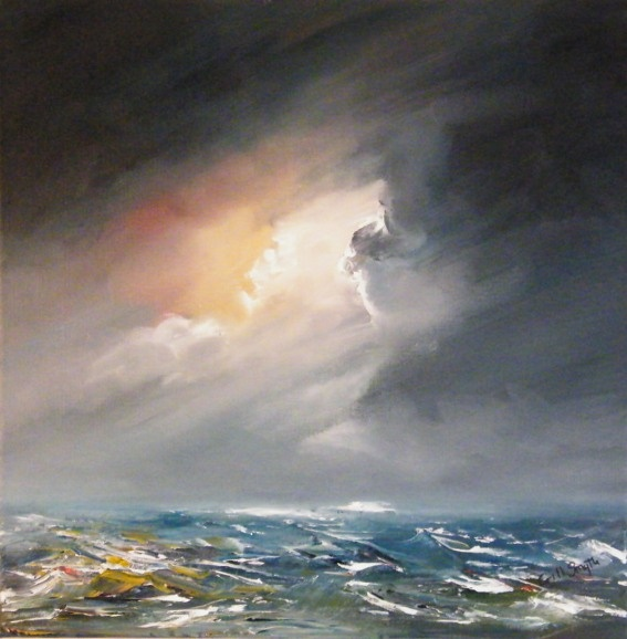 Evening Sea by Gillian Smyth