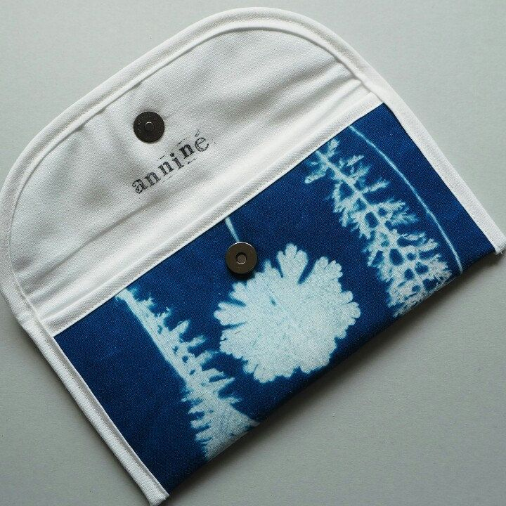 My cyanotype printed clutches on Second Round launch tomorrow in Prague.