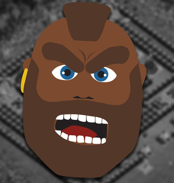Picture of Clash of Clans - Hog Rider - Mask