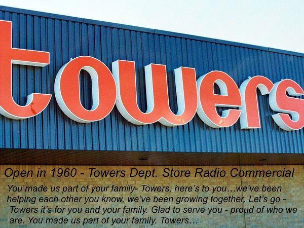 Towers Dept. Store on Cyrville Rd. opened in 1960.