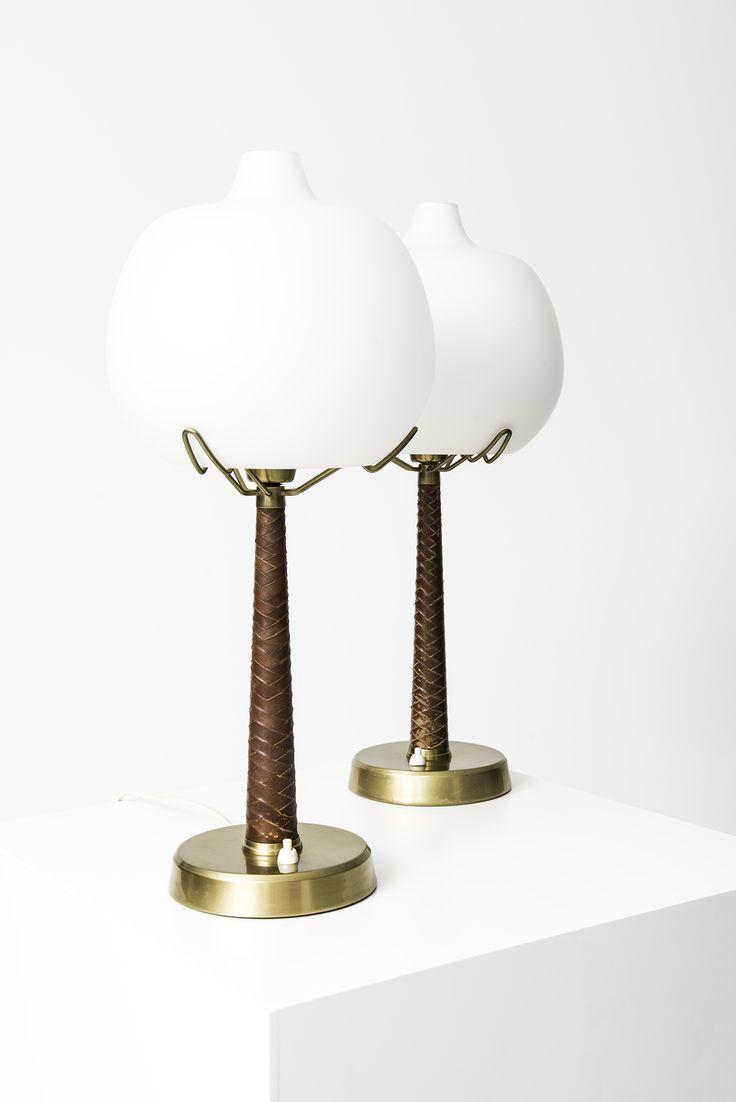 Hans Bergström table lamps model nr 700 at Studio Schalling