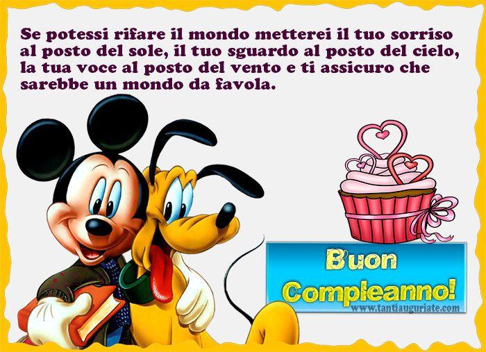 Micky Mouse e Pluto | Auguri di Buon Compleanno