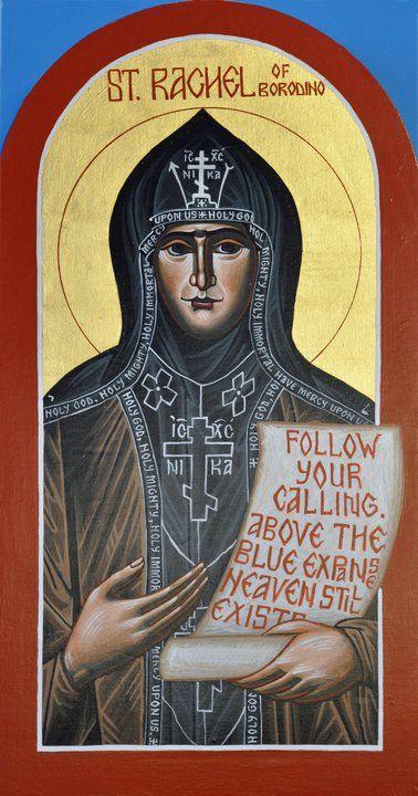Αποτέλεσμα εικόνας για St. Rachel, Schemanun of Borodino Savior Monastery