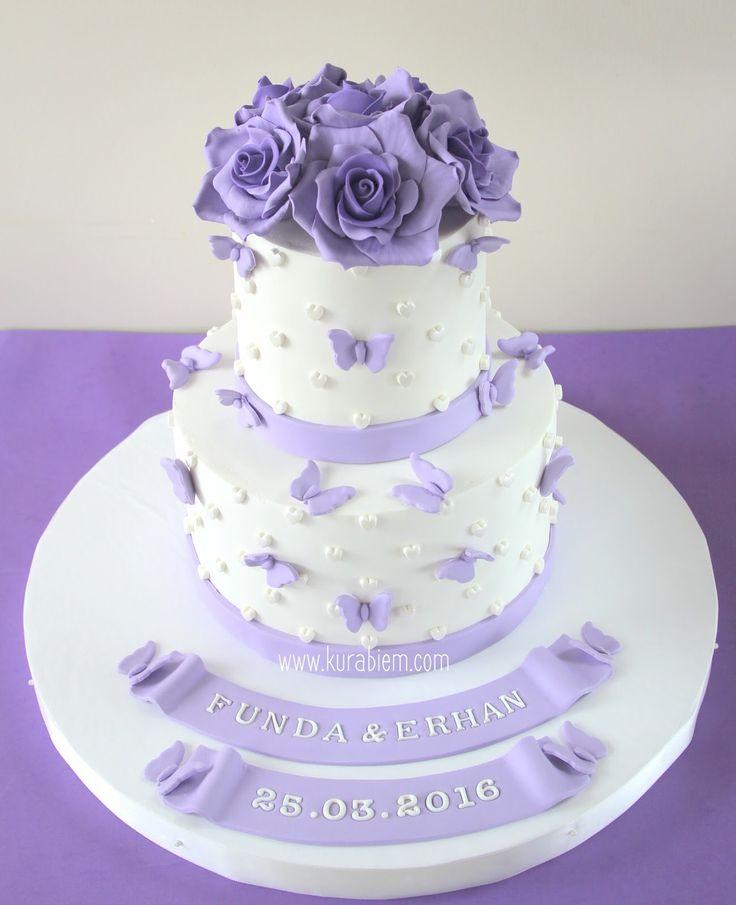 engagement cake, purple cake, nişan pastası, butik pasta, purple engagement cake, purple rose cake, rose cake, purple butterfly cake, butterfly cake, söz pastası , kelebek pasta, sugar flower cake, kelebekli nişan pastası, mor nişan pastası, düğün pastası , wedding cake , birthday cake ,istanbul cake