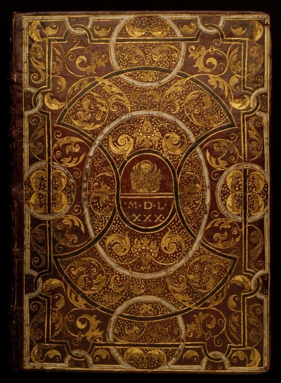 Italian book cover 1580