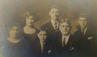 The Meaning and Meaninglessness of Genealogy :   The practice of genealogy researching ones ancestors has exploded lately. Ancestry.com has become a huge success boasting millions of subscribers and a net worth well into the billions. Many if not most families in the US have at least one person actively researching the long-forgotten twists and turns of their family tree.  The Lents family circa 1918.  Source: NH Lents  Its an understandable obsession of course. The preoccupation with who we…