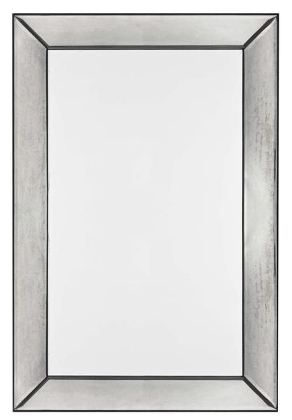 Tompkins Mirror Frameless Mirror with Antiqued Glass | Modern Mirror by Cooper Classics at Contemporary Modern Furniture  Warehouse