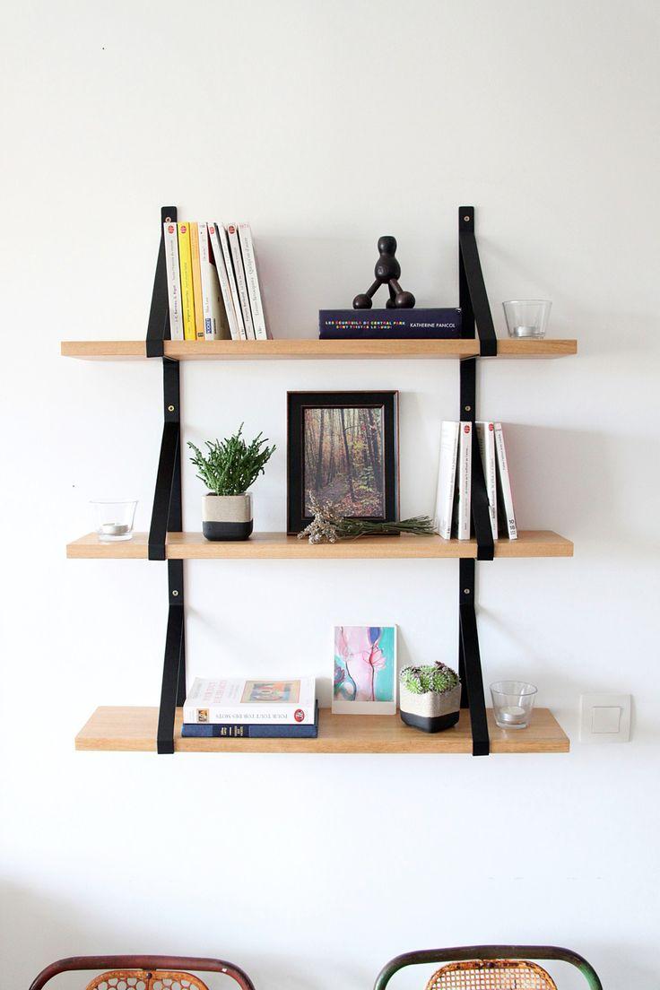 etagere murale bois. Black Bedroom Furniture Sets. Home Design Ideas
