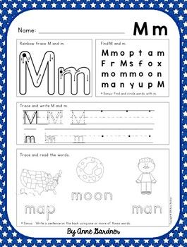 These Alphabet Practice Sheets are designed with a highly supportive format to help students refine letter identification skills and knowledge of letter sounds while learning proper letter formation. Upon request, this resource now contains 2 sheets for