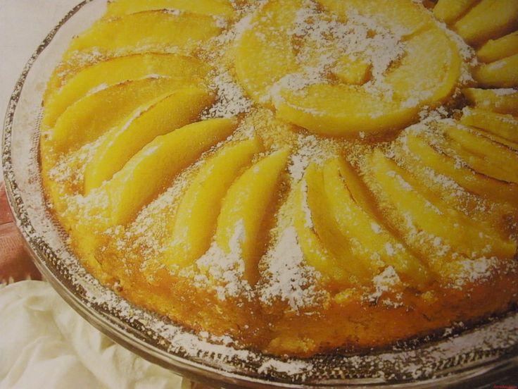 Пирог с яблоками карамелизированные яблоки