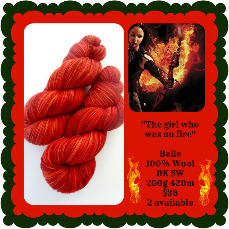 The Girl who was on Fire - Hunger Games | Red Riding Hood Yarns