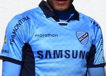 Club Bolívar 2013/14 Marathon Home and Away Jerseys