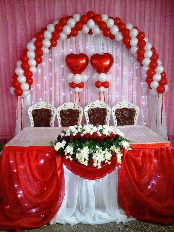 17 mejores im genes sobre arcos con globos en pinterest decoraci n de baile de graduaci n - Decoracion boda en casa ...
