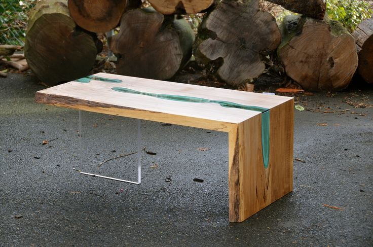 Folded River Coffee Table - Greg Klassen Furniture