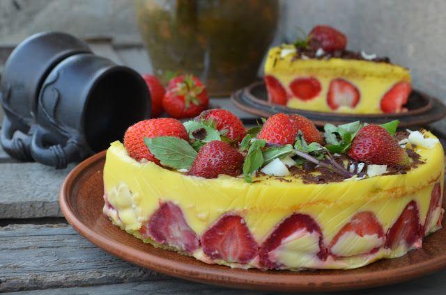 """Кулінарні варіації вар'ятки: Торт """"Фрезьє"""""""