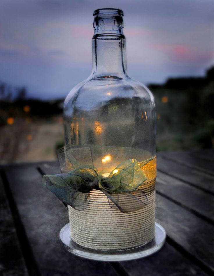 botella de luz