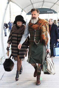 Remember: If the beard isn't making enough of a statement, add a kilt.