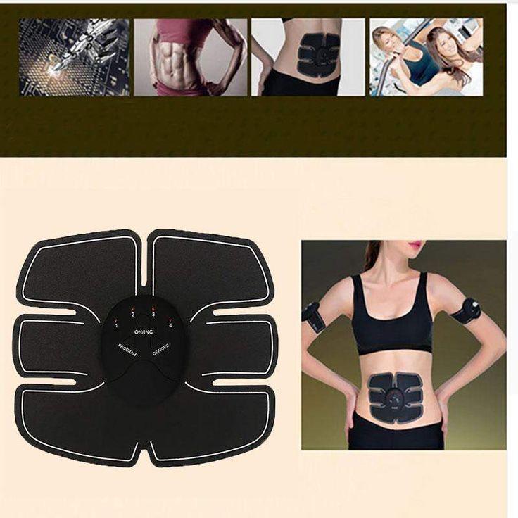 Wallmart.win Massager Abdominal Muscle Trainer Wireless Smart Ems Electric Pulse Treatment Sports Muscle Stimulat