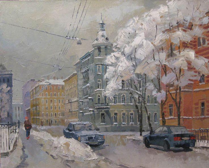 Saint Petersburg by Dmitry Kotunov_Котунов Дмитрий. Греческий проспект