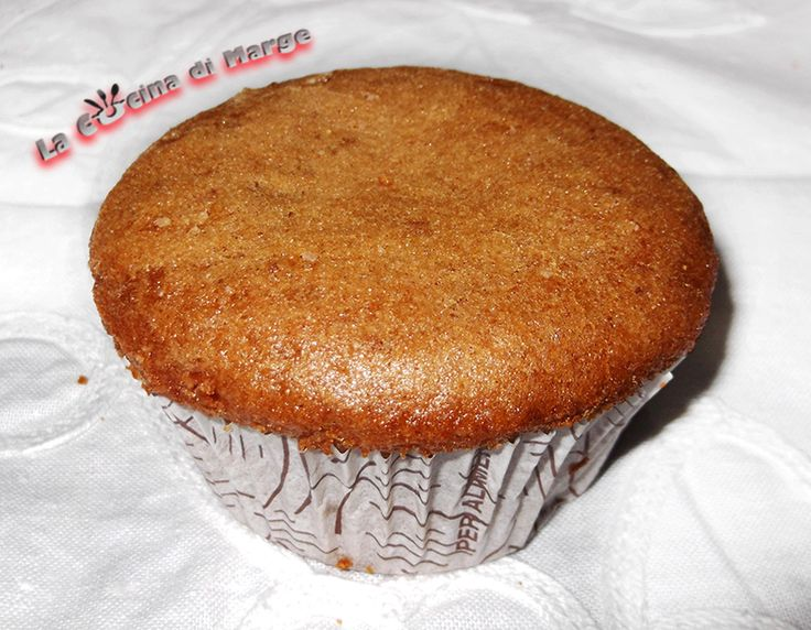 Muffin al caffè senza uova,burro e latte,ricetta light
