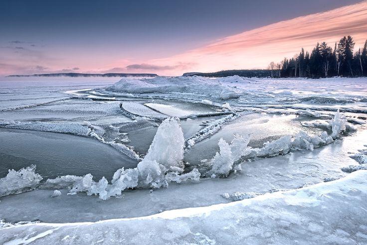 Lake Superior Freeze-up - null