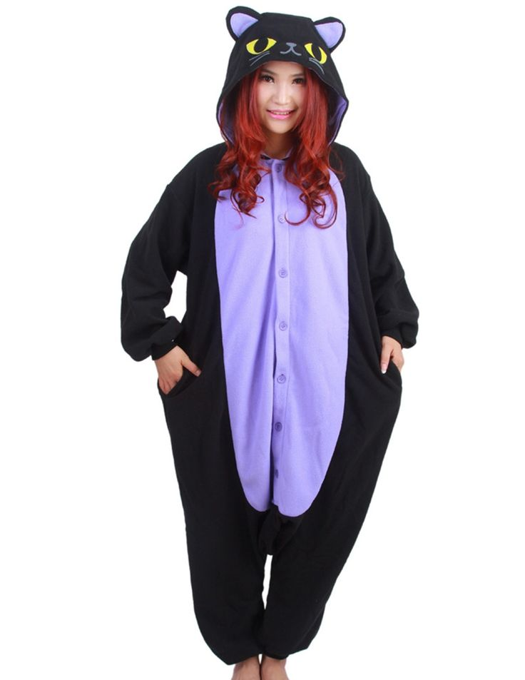 Cute Cat Onesie for Adults