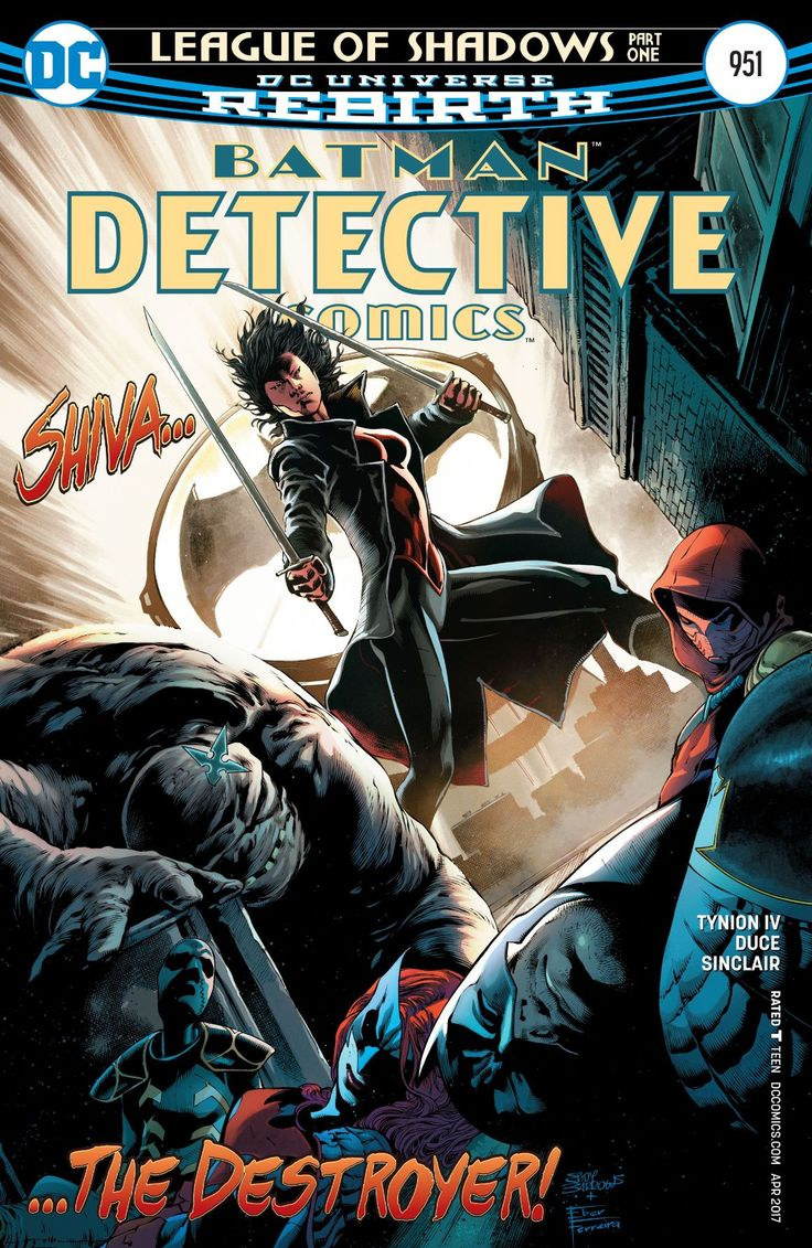 "By James Tynion IV, Christian Duce & Alex Sinclair After the milestone #950 anniversary issue which provided a brief, Cassandra Cain-centric prologue, writer James Tynion IV kicks things off properly with the first chapter of ""League of Shadows"" establishing a bold new arc for... Alex Sinclair, batman, batwoman, Clayface, dc, DC Comics, DC Rebirth, Detective Comics, Detective Comics #951, James Tynion IV, Lady Shiva, League of Shadows, Milo Milton-Jefferies,"