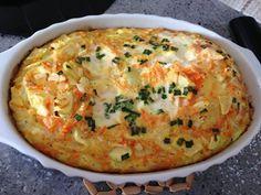 Omelete de abobrinha - esquece o light e foca na abobrinha