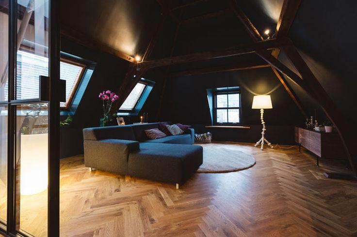 Het prachtige zolderappartement van Hans en Roberto in Utrecht - Roomed