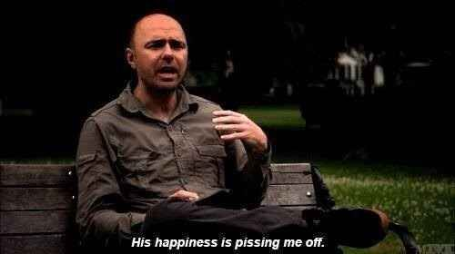 15 Signs You Are the Karl Pilkington of Your Friend Group | Overly positive people are your biggest pet peeve. Gotta love the show An Idiot Abroad.