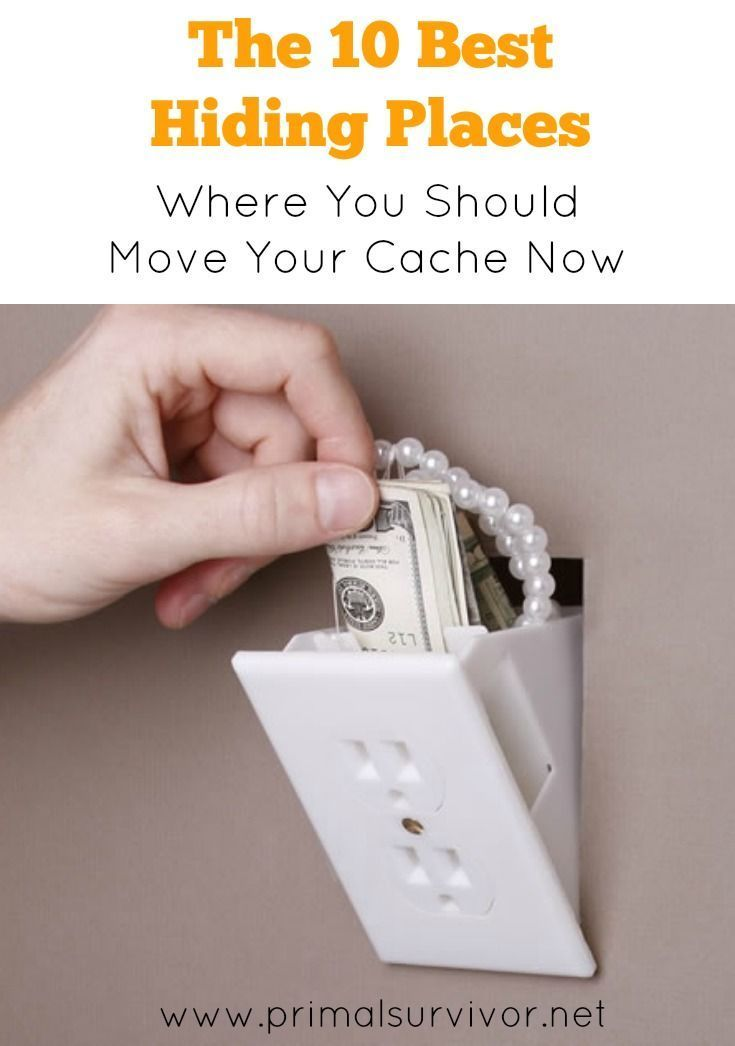 The 10 Best Hiding Places Where You Should Move Your Cache Now. Essential home security tips to keep your belongings safe from burglars and when SHTF.