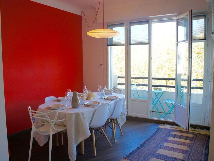 location vacances appartement biarritz salle manger - Maison Moderne Biarritz