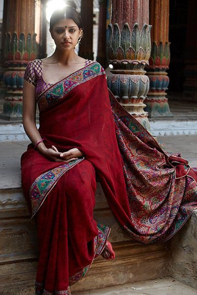 #Saree by L'affaire, Delhi http://www.laffaire.net/html/index.html ~