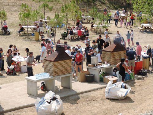 Nombrosos veïns van participar a la inauguració del nou parc el dia 6 de juliol - Foto: Ajuntament de Masquefa
