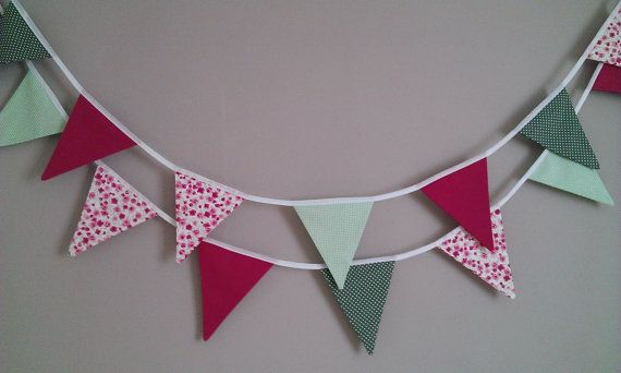 Quality Homemade Bunting  Custom Made by NaisyHomemade on Etsy, £5.00 per meter