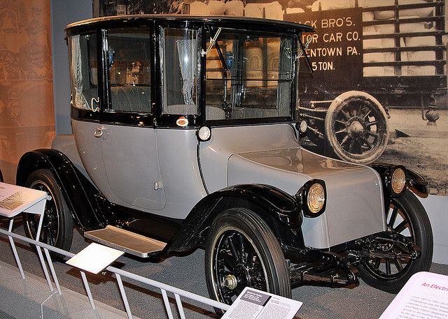 1922 Detroit Car Co. Electric Car by twg1942, via Flickr