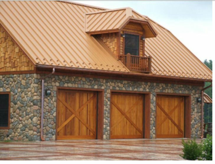 7 best sierra tan metal roof images on pinterest metal for Images of houses with metal roofs