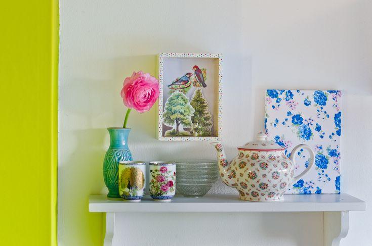 display cabinet - DIY Schaukasten als Dekoidee für den Frühling