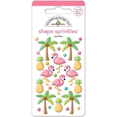 DOODLEBUG DESIGN: Shape Sprinkles (Tropical)