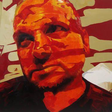 "Saatchi Art Artist Corne Eksteen; Painting, ""The Muse"" #art"
