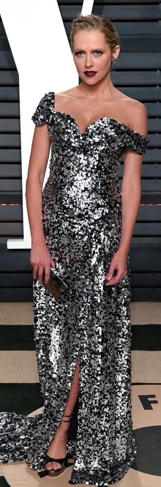 102Awesome Oscars Weekend OutfitsYou Didn't See - but Can't Miss - Teresa Palmer in Vivienne Westwood